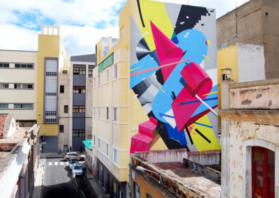 Graffiti collaboration with MURONE. Tenerife, Canary Islands